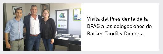 Visita Dolores - Tandil - Barker
